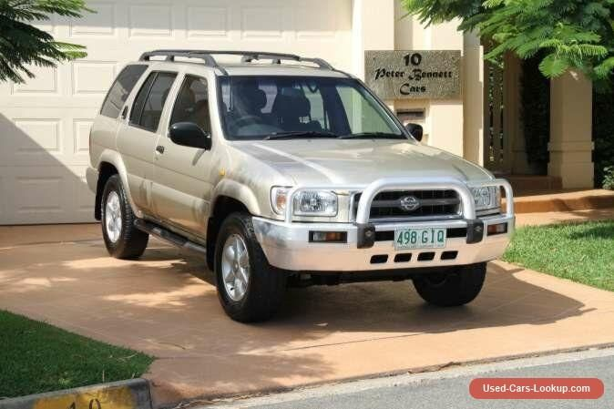 1999 Nissan Pathfinder WX II TI Champagne Bronze Automatic 4sp A Wagon #nissan #pathfinder #forsale #australia