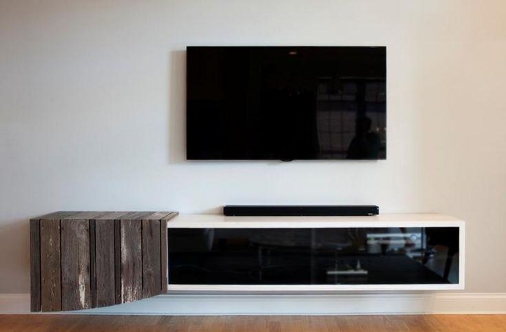 10 Modern Floating Media Cabinet For the Living Room - Rilane