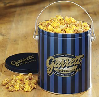 Garrett's popcorn ,  the Chicago mix