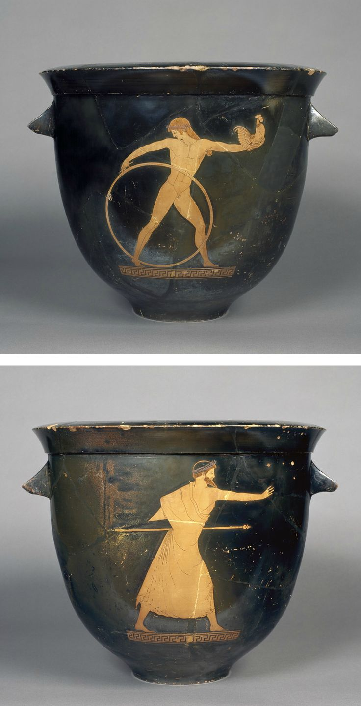 BERLIN PAINTER (attributed to) Attic Red-Figure Bell-Krater Circa 500-490 BC Etruria Athens