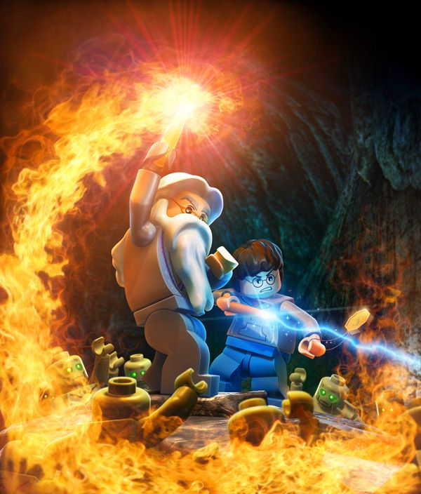 """Arte do Game """"Lego Harry Potter"""" #HarryPotter #Lego #Illustration"""