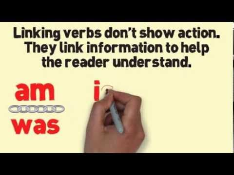 Linking Verbs Song (New) by Melissa - YouTube