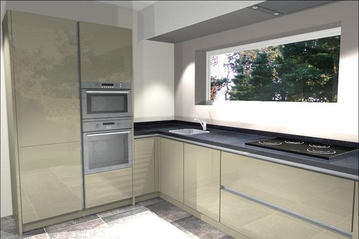 Ook een gratis 3D ontwerp van jouw nieuwe keuken? www.vanwanrooij-tiel.nl