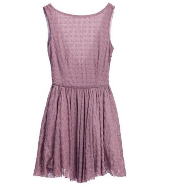 Bqueen Slim Chiffon Dress YE008P ($69) ❤ liked on Polyvore