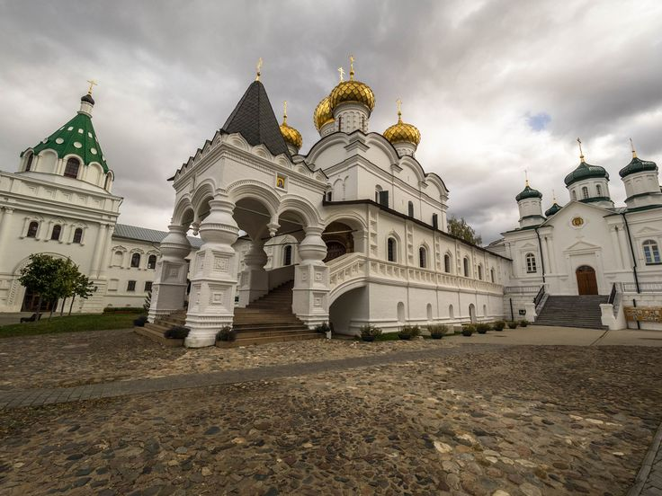 In the yard of the Ipatiev Monastery by Alexander Polomodov on 500px