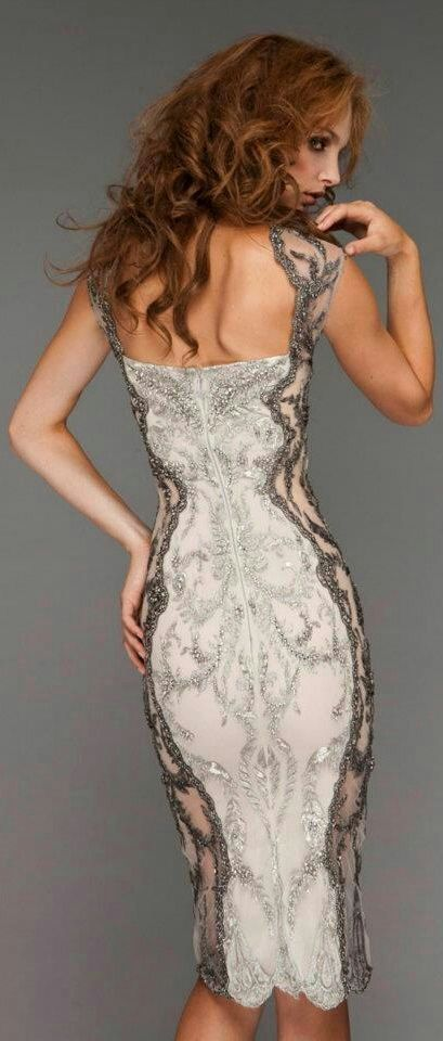 Gorgeous, not that i will ever go anywhere to wear this, but it's beautiful