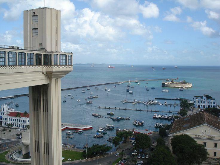 Elevador Lacerda - South America Travel Secret: Salvador Brazil