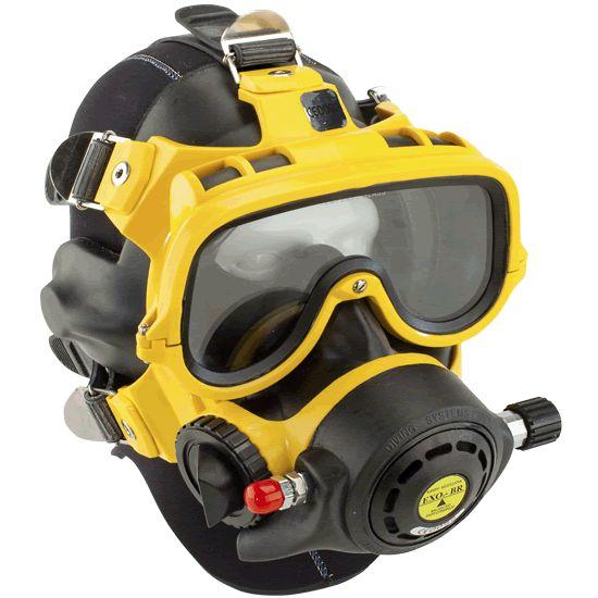 EXO-BR Mask #CommercialDiving