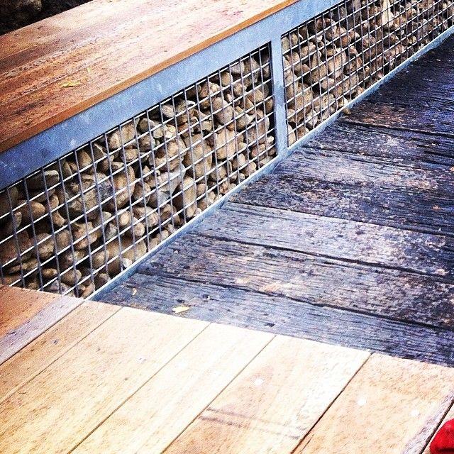#spottedgum #steel and #rocks #yards #yardslandscaping #brisbane #gardendesign #landscapedesign