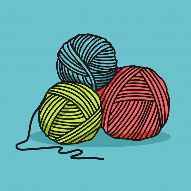 Yarn Ball Free Vector Icons Designed By Smalllikeart Vector Icon Design Vector Free Free Icons