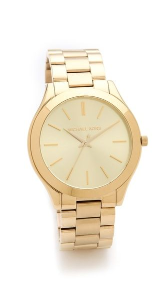 Michael Kors Slim Runway Watch -> I purchased this baby today :)