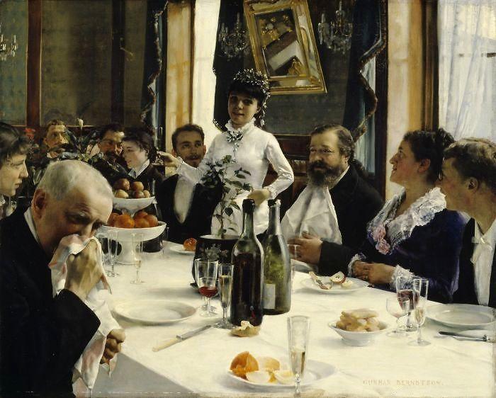 """Gunnar Berndtson (1854 - 1895) - """"The Bride's Song"""" 1881"""