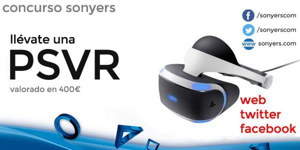 Sorteo de ua casco de Realidad Virtual PlayStation VR