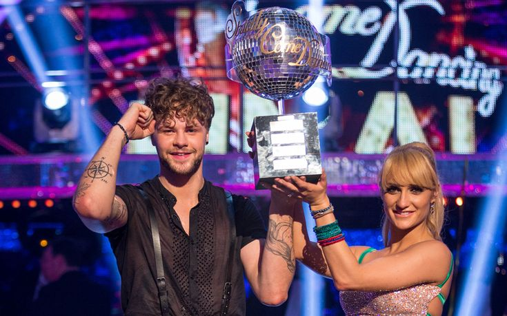Jay McGuiness and his pro partner Aliona Vilani beat Georgia May Foote and   Kellie Bright to become the 2015 Strictly champions
