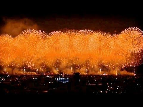 長岡花火 スーパービデオダイジェスト 2013 Nagaoka Fireworks Festival in Japan,video digest...