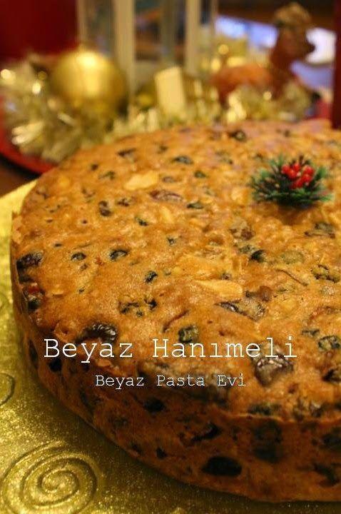 Yılbaşı keki (Christmas cake)