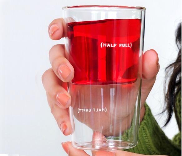 Need two!: Design Inspiration, Glasses Half, Full Glasses, Fun Drinks, Glasses Design, Half Ful Glasses, Half Full, Half Glasses, Drinks Ideas