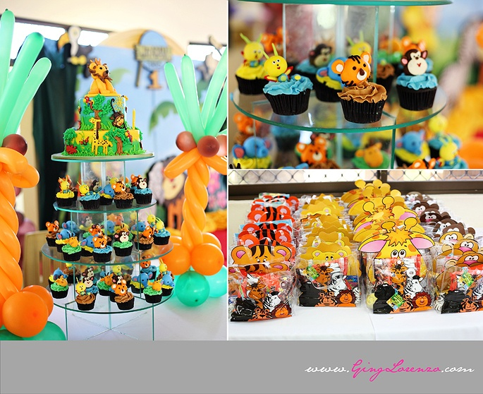 101 best Kids 1st birthday Jungle theme images on Pinterest