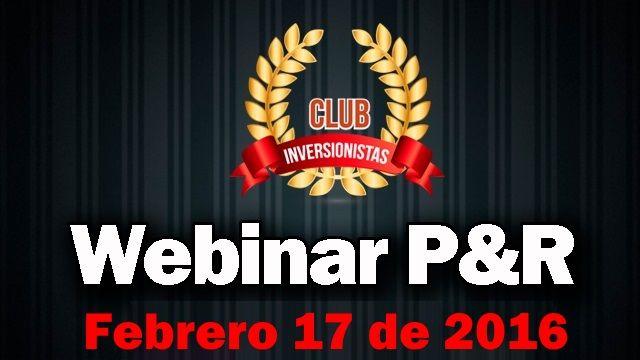 Webinar para Miembros del Club | El Club de Inversionistas
