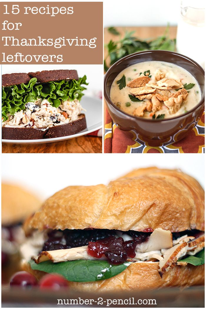 Fifteen delicious recipes for Thanksgiving leftovers. So many good ideas!