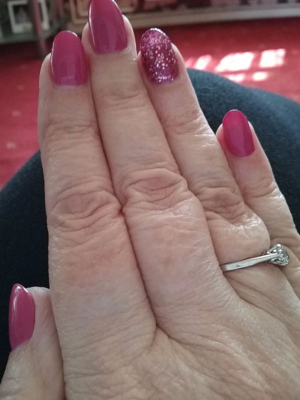 Lovely set of nails today feel ready for summer thanks Rhea