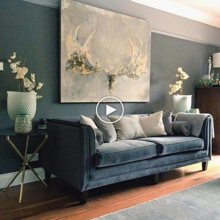 25 Idees De Couleurs De Mur De Salon Elegant Correspondant A Des
