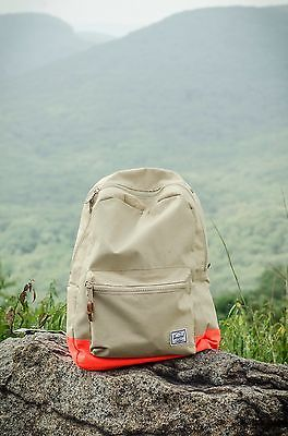 Tan Orange Herschel Backpack/ Herschel