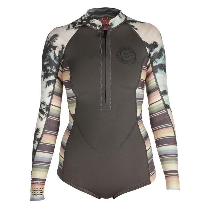 Billabong Women's Salty Daze Long-Sleeve Spring Suit - Picky