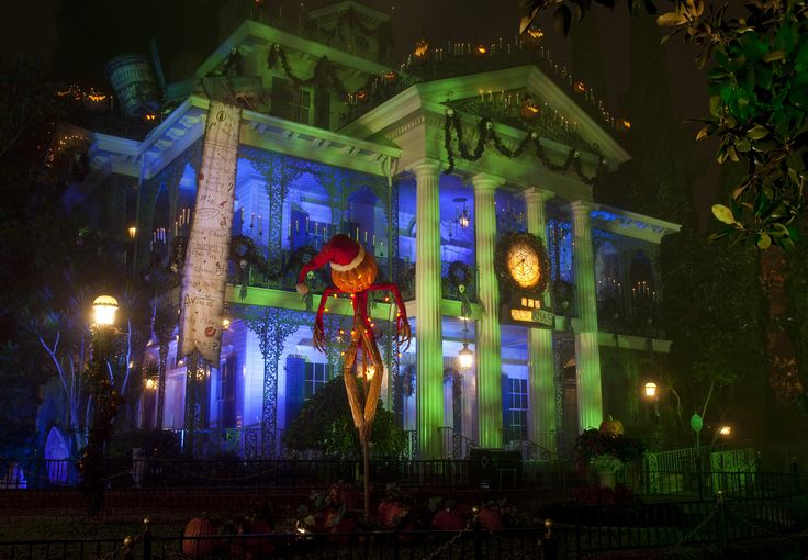 With your regular theme park admission ticket, you can see the Halloween themed versions of Space Mountain and Haunted Mansion Holiday, in addition to the decorations throughout the park. Description from dadlogic.net. I searched for this on bing.com/images