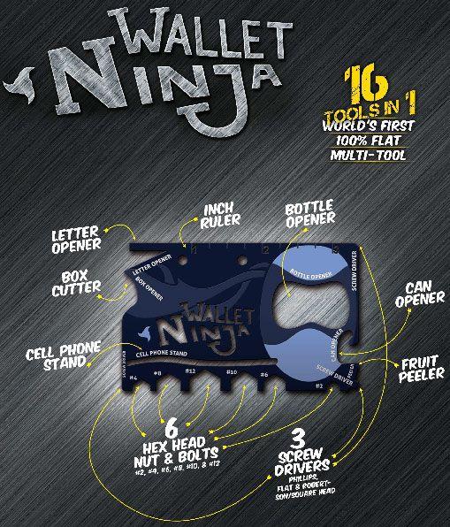 Wallet Ninja + Stocking Stuffers for Men