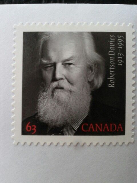 """This year's Canadian Christmas stamps feature """"Bad Santa""""."""