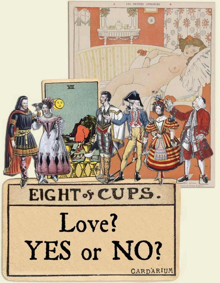 tarot cards yes or no love