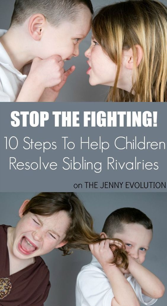 STOP the fighting! Sibling Rivalry Solutions in just 10 Steps  via @jennyevolution #parenting