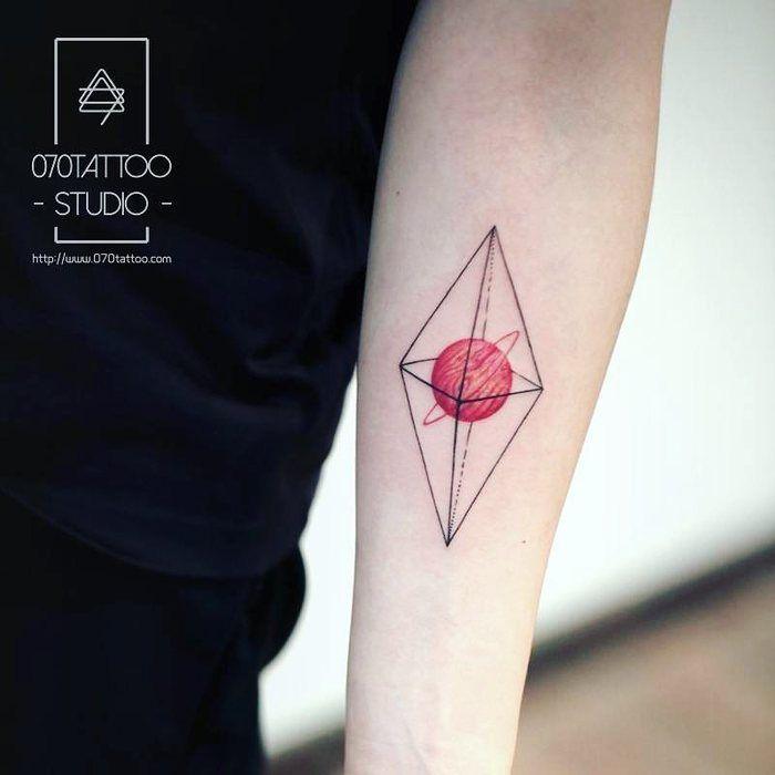 Planet Tattoo by 070tattoo_xian