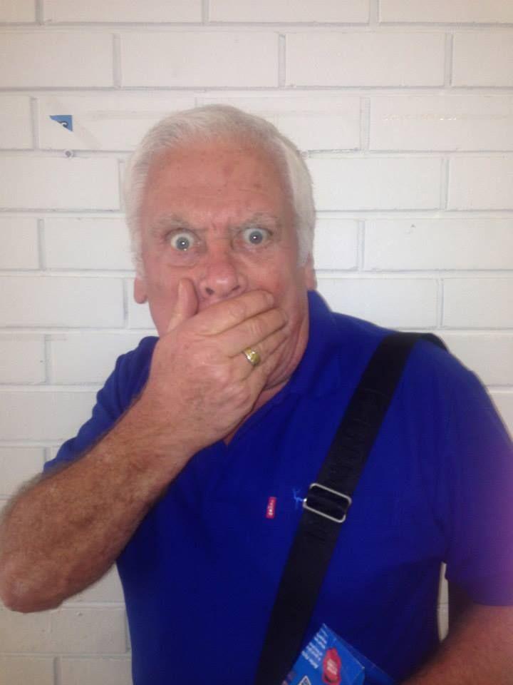 Tom Oliver was lost for words... #whohitrobbo #NeighboursBehindTheScenes #NeighboursInstagram