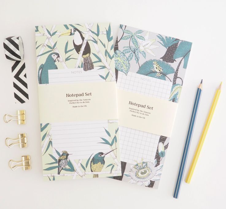 Amazon Notepad set by Jacqueline Colley