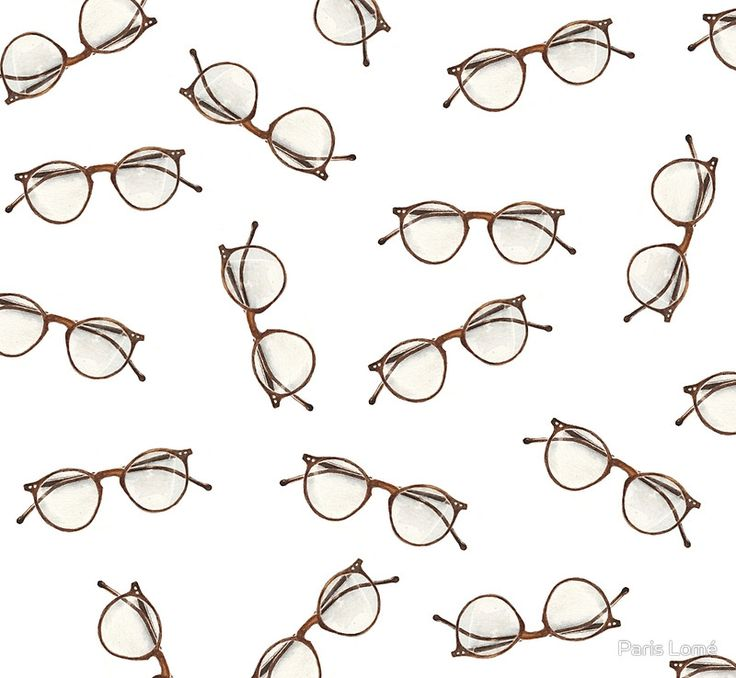 Nerdy Glasses Pattern