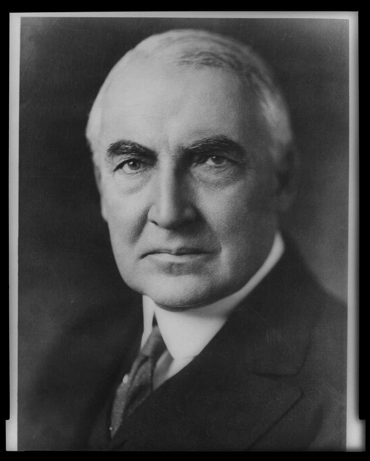 Warren G. Harding, an Ohio Republican, was the 29th President of the United States (1921-1923). Though his term in office was fraught with scandal, including Teapot Dome, Harding embraced technology and was sensitive to the plights of minorities and women. Learn more: http://go.wh.gov/BCrcZ8