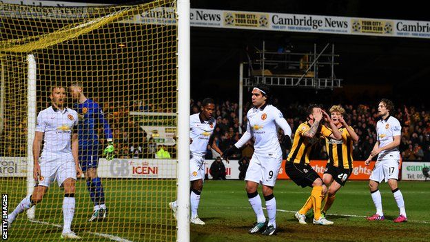 Cambridge United 0-0 Manchester United