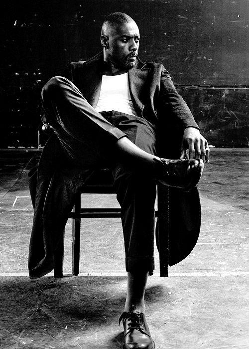 "celebritiesofcolor: "" Idris Elba for Interview Magazine """