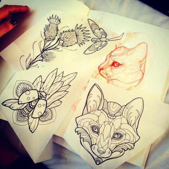 meer dan 1000 idee n over tattoo motive op pinterest. Black Bedroom Furniture Sets. Home Design Ideas