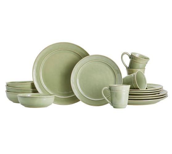 Cambria 16-Piece Dinnerware Set | Pottery Barn