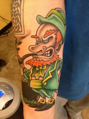 Syracuse, NY - Dawn of Time Tattoo (Tip Hill Area)....Happy St. Patty's Day!