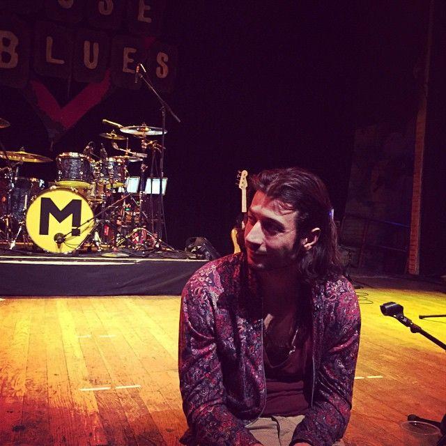 """@ournameismagic's photo: """"Day 2 of rehearsals. #maroon5tour #tminus13days"""" #magicmusic"""