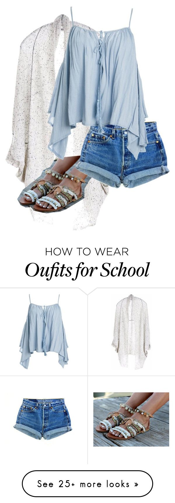 """""""Untitled #121"""" by keekeemarie02 on Polyvore featuring Paychi Guh and Sans Souci"""