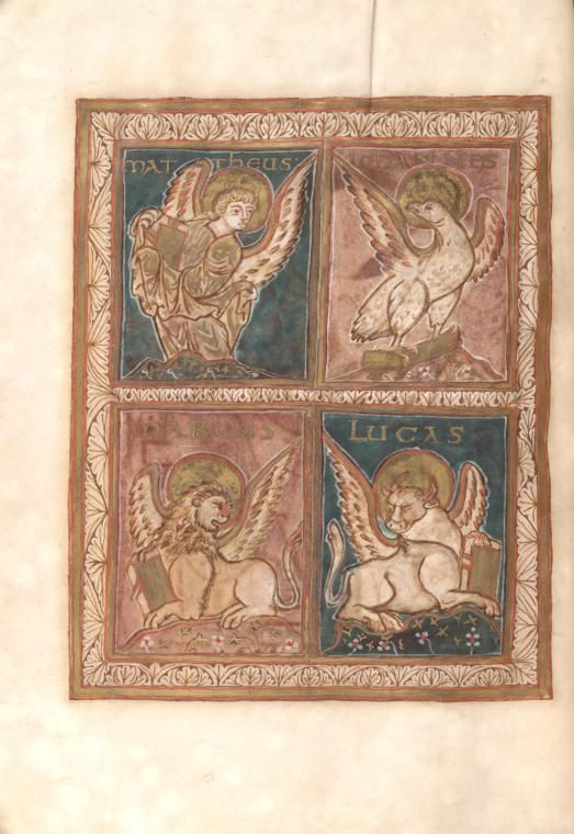 Corvey Lectionary -- Matthew, Mark, Luke, John