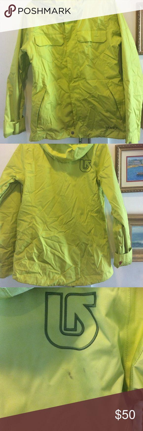 Burton ski jacket Size large fleece lined kids Burton ski jacket Burton Jackets & Coats