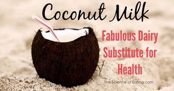 Coconuts are nutrient dense and rich in fiber. It is lactose free so it can be used as a cow's milk substitute by those with...