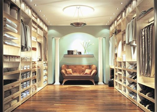 Lovely if you have space to spare - perhaps a large island in the center & 212 best Closet images on Pinterest | Dresser in closet Walk in ...
