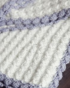 For my first pattern of the year, I wanted to post something that I know you will love. Baby blankets are so much fun to make. Since... Read more                                                                                                                                                                                 More